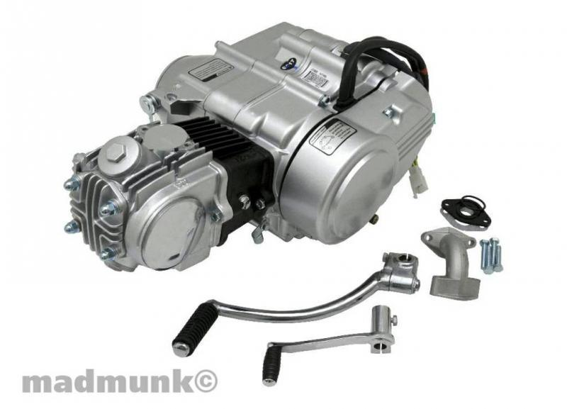 Zongshen Motor 72 ccm oder 50 ccm - Honda Monkey Dax Kepspeed ...