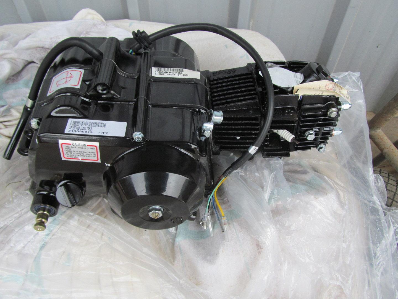 Lifan 50 ccm Halbautomatik Kickstart Motor - Honda Monkey Dax ...