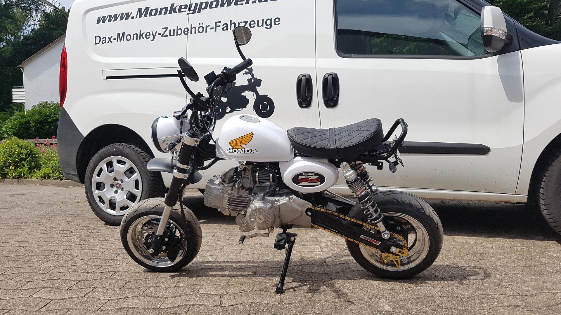 Kepspeed Monkey Sitz niedrig versch. Farben - Honda Monkey Dax ...