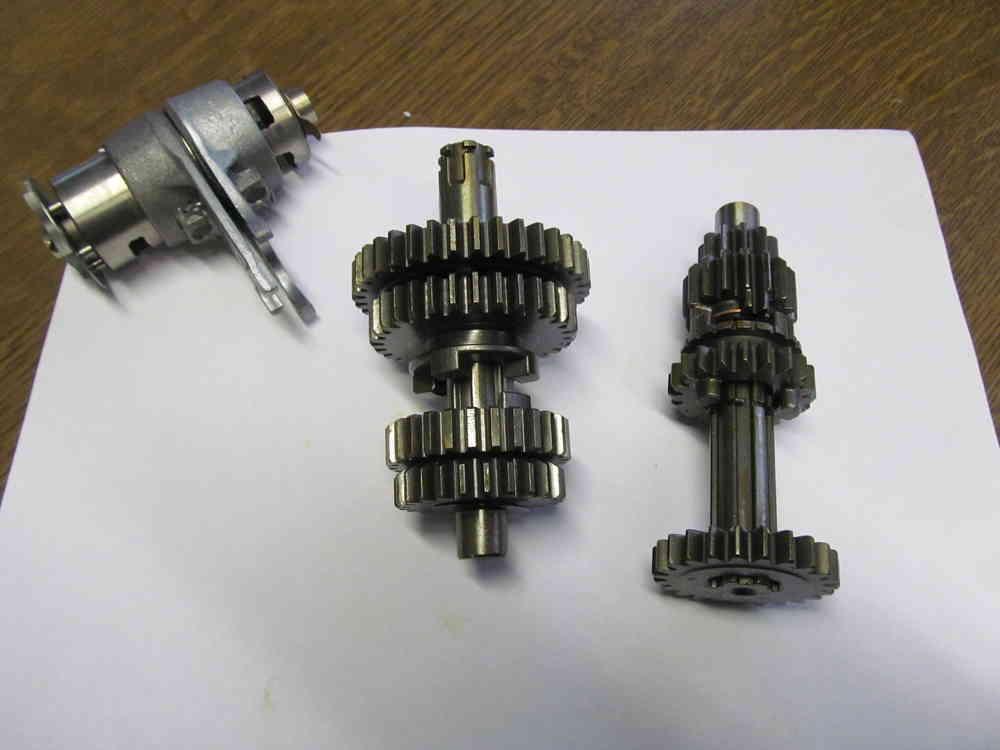 Lifan Getriebe für 50, 70, 86 110 ccm Motoren auch für Honda - Honda ...