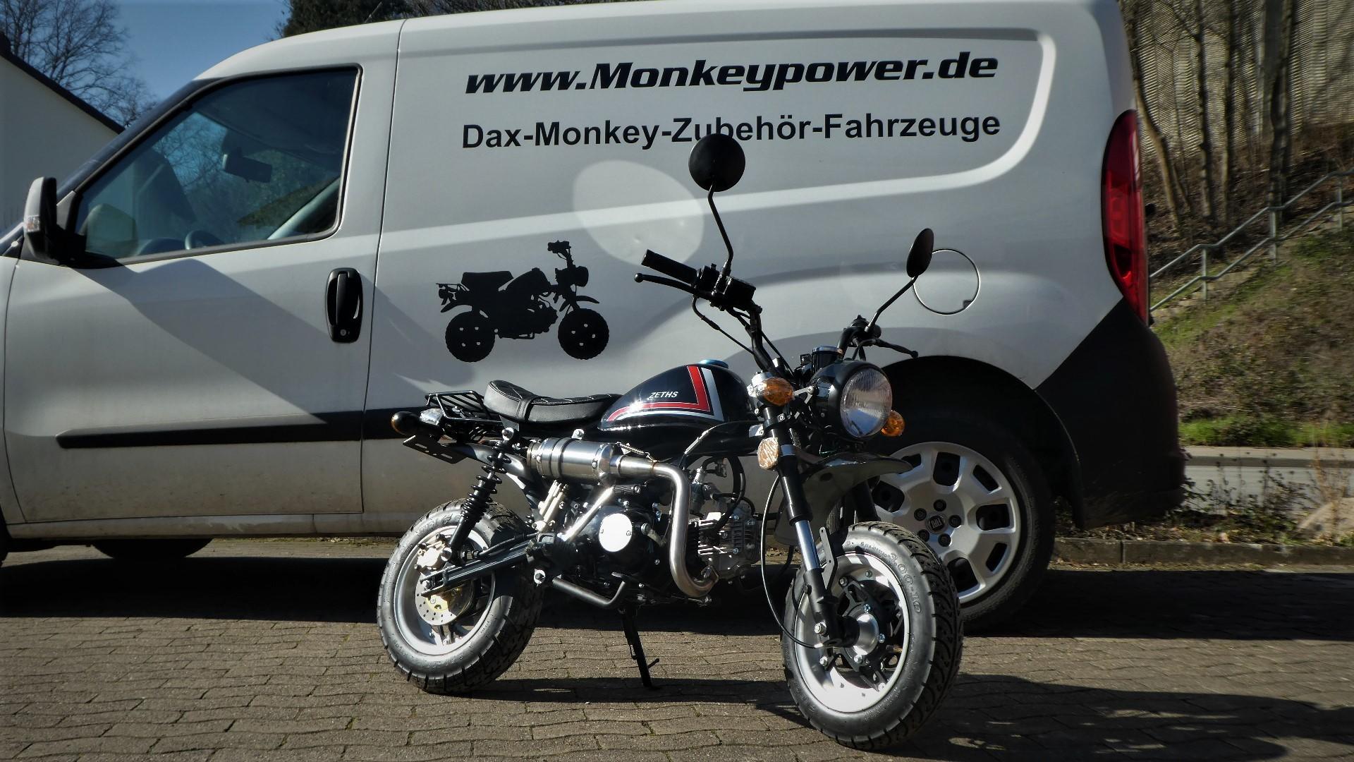 Monkey Dax Kepspeed Skyteam Fahrzeuge Teile und Zubehör